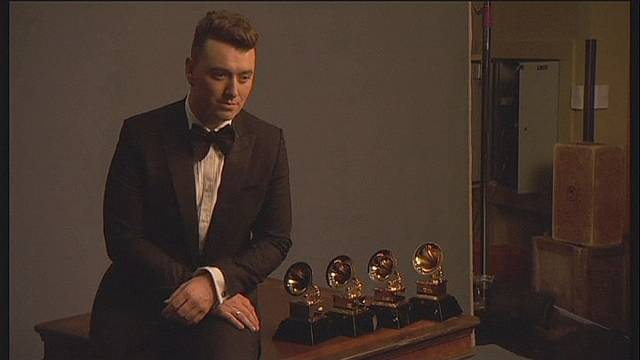 Sam Smith, Pharrell, Beyoncé shine at 57th Grammys