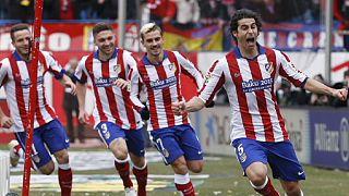 Em Madrid manda o Atlético, em França a luta é a três