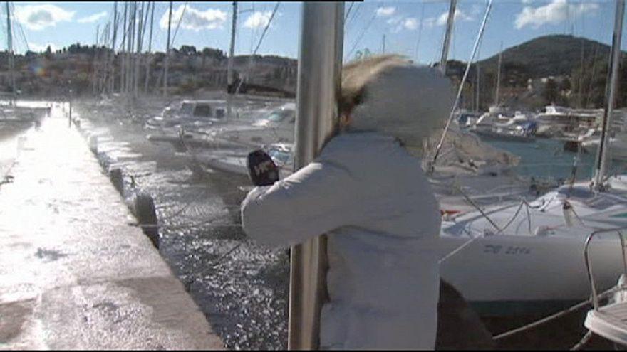 Croatia: strong winds hit Dubrovnik