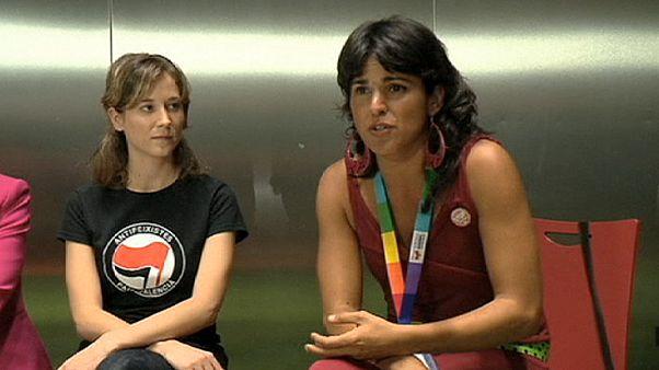 Podemos: Rodriguez wird mit 80 Prozent Spitzenkandidatin in Andalusien