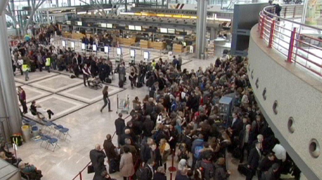 Sztrájk három német repülőtéren