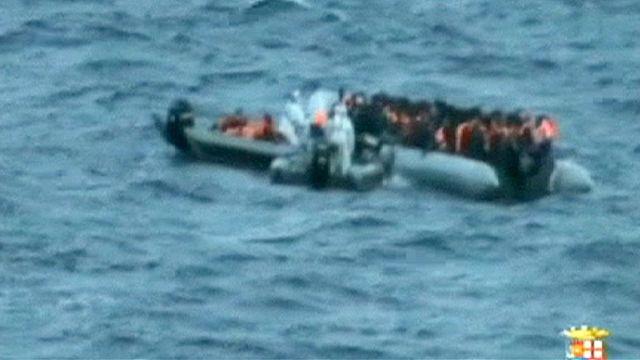 Dozens of migrants die from exposure on Italian coast guard boats