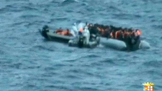 Dozens of migrants die from exposure on Italian coast guard boats