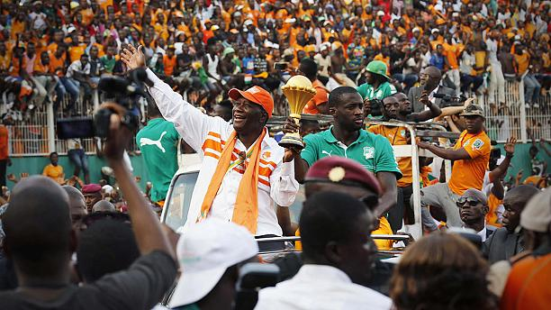AFCON champs Ivory Coast return to heroes welcome