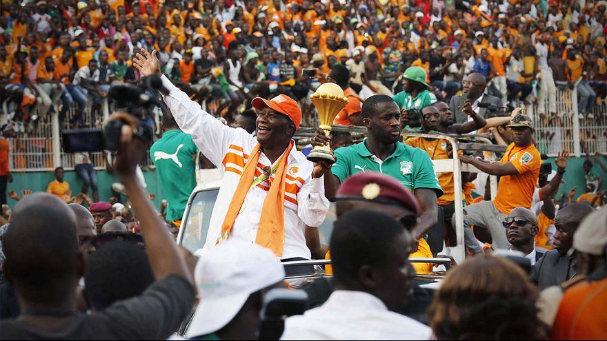 Afrika-Cup: Die Sieger der Elfenbeinküste werden empfangen