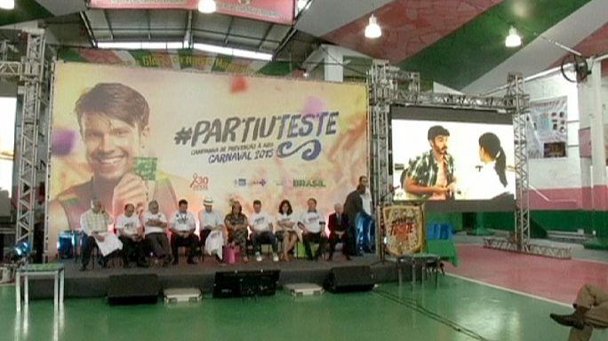 Brezilya'da karnaval öncesi ilginç kampanya