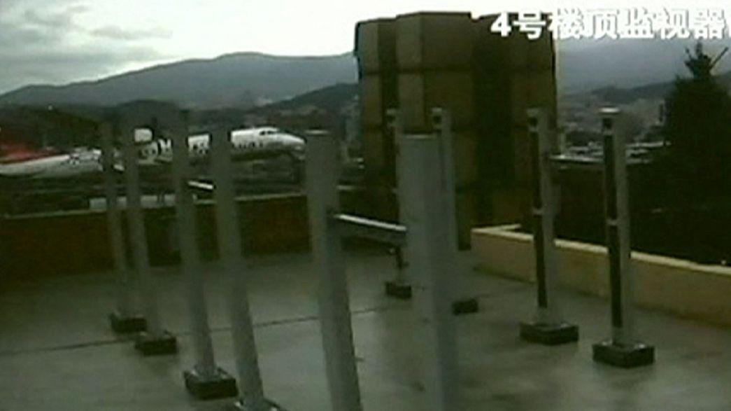 Palazzo sfiorato di un soffio. Nuovo video sull'incidente aereo a Taiwan