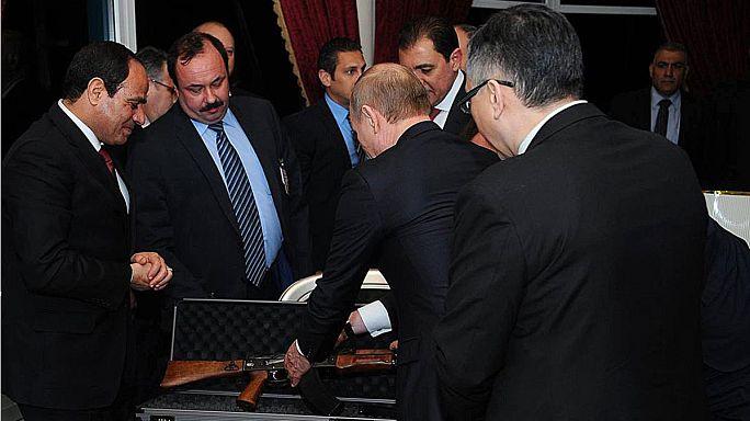 Putyin Egyiptomban keres szövetségest