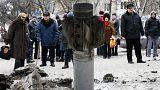 Ucraina: drammatiche immagini dei bombardamenti dalle case degli abitanti