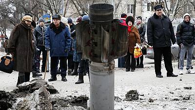 Ukraine troops and rebels wage counter-offensives ahead of talks