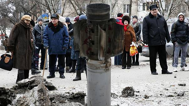 Egyre hevesebbek a harcok Kelet-Ukrajnában a minszki csúcstalálkozó előtt