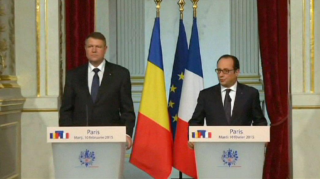 Negociações em contra-relógio antes da cimeira de Minsk