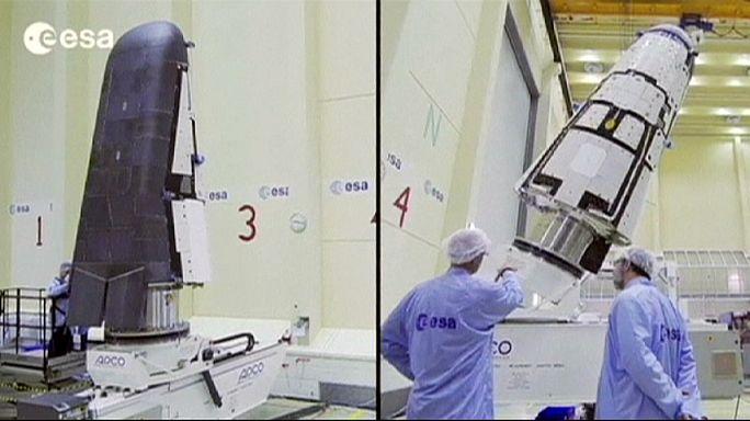 Запуск европейского экспериментального космического аппарата