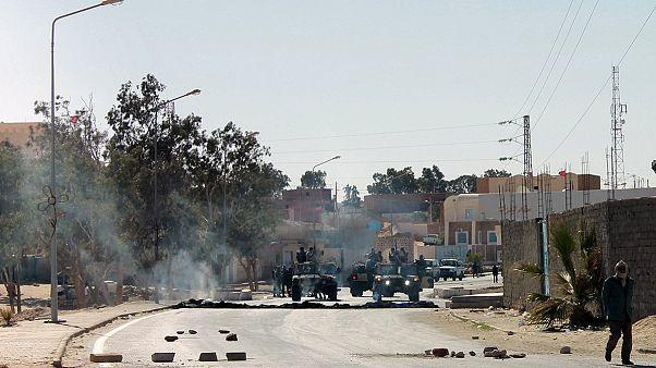 Τυνησία: Μαζική συμμετοχή στην απεργία, στα σύνορα με τη Λιβύη