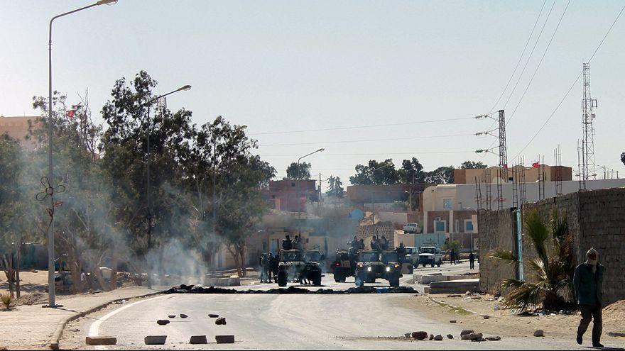 Greve geral e protestos no sul da Tunísia