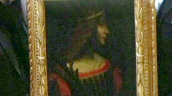 مصادرة لوحة فنية لـ: ليوناردو دافينتشي في سويسرا بطلب من إيطاليا