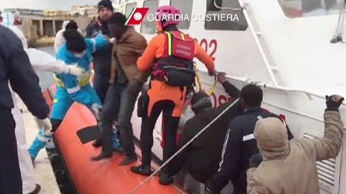 Újabb szörnyű tragédia Lampedusánál