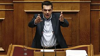 Greek PM easily wins parliamentary backing to take on Brussels over bailout revision plans
