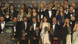 Antonio Banderas handed honorary award at 'Spanish Oscars'