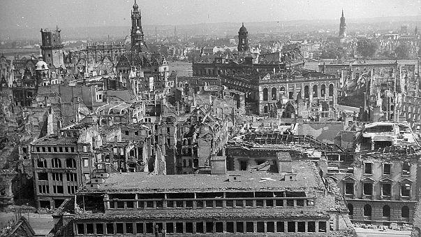 """Das wummerte so"": Erinnerung an Bombardierung Dresdens"