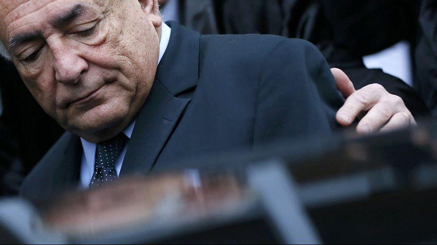 Франция: Доминик Стросс-Кан начал терять выдержку в суде