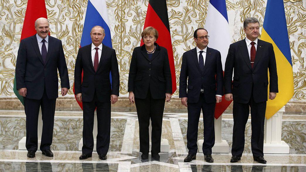 Grupo de Minsk  poderá arrancar acordo de paz para a Ucrânia