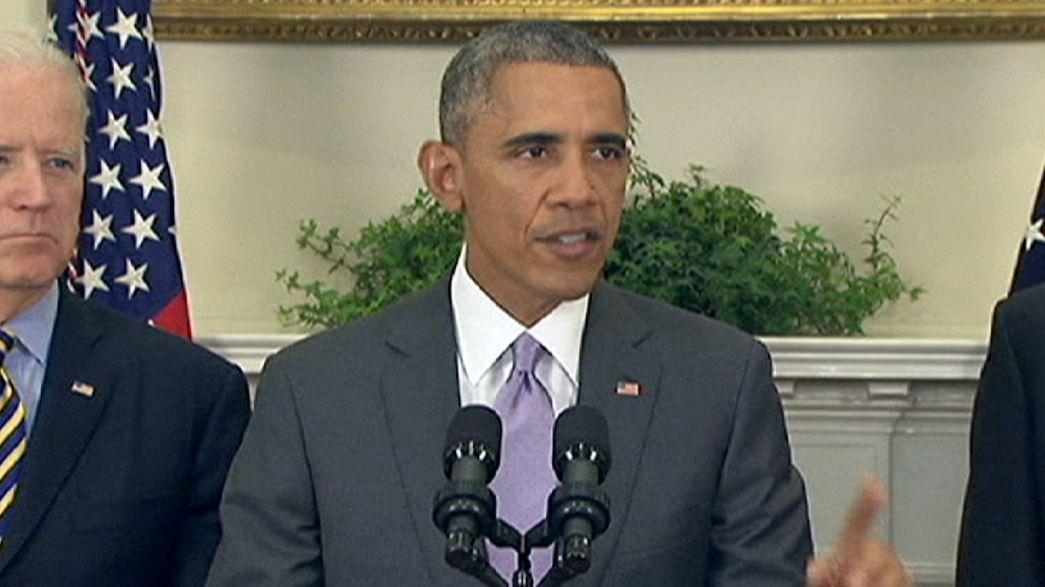 Obama bittet Kongress um Genehmigung für Krieg gegen IS-Dschihadisten