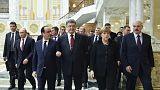 """Ucrânia: um acordo a """"80%"""" pronto a ser assinado em Minsk?"""
