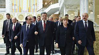 مفاوضات ماراثونية في مينسك لانهاء الصراع في اوكرانيا
