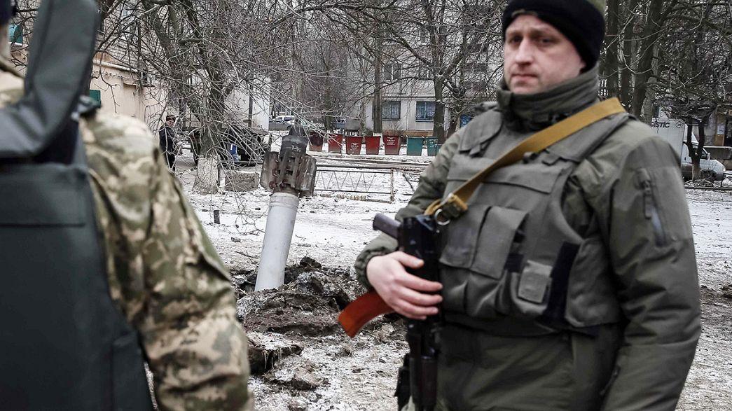Nach Raketeneinschlag: Flucht aus Kramatorsk