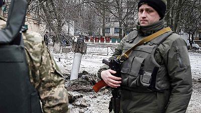 Los habitantes del este de Ucrania no saben hacia dónde huir