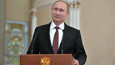 Vladímir Putin el encargado de anunciar el alto el fuego