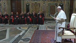 Pope Francis checks up on Vatican civil service reform
