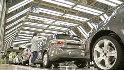 Weak Irish factory output pulls down eurozone industrial production