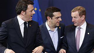 حضور نمایندگان دولت یونان در نشست سران اروپا