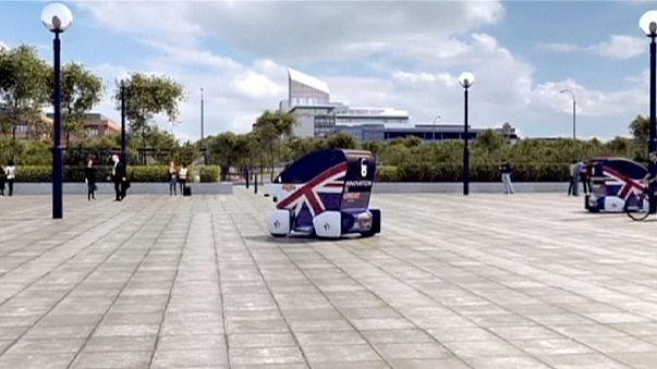 Feu vert anglais pour les voitures sans conducteur