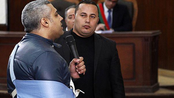 Egypte: 2 journalistes d'Al-Jazeera libérés