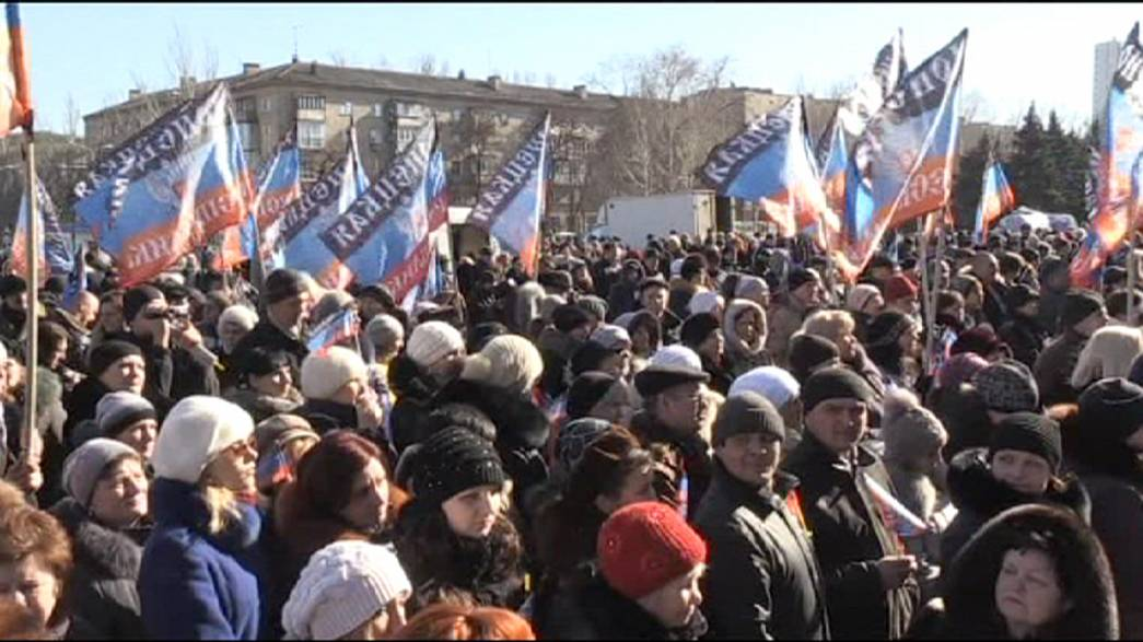 Ucrânia: Descrença é maior do que esperança em Donetsk