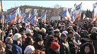 Separatist community in Donetsk downbeat on Ukraine ceasefire deal