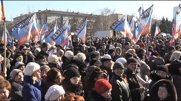 Separatist community in Donetsk downbeat on Ukraine ceasefire deal