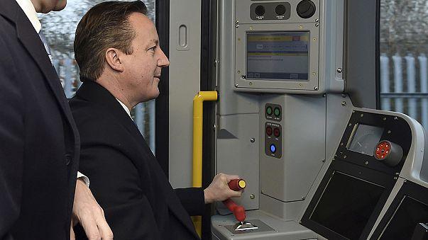 La campaña electoral británica a toda máquina