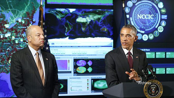 """أوباما في اجتماع حول """"الأمن الإلكتروني"""" بسان فرانسيسكو"""
