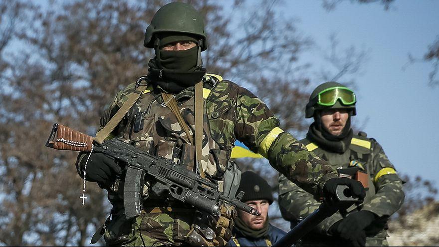 Weitere Kämpfe vor neuer Waffenruhe in der Ukraine