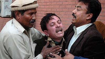 Deaths in Pakistan sectarian attack on mosque in Peshawar