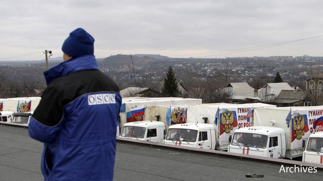 Donbass: Wird die Waffenruhe eingehalten werden? OSZE besorgt