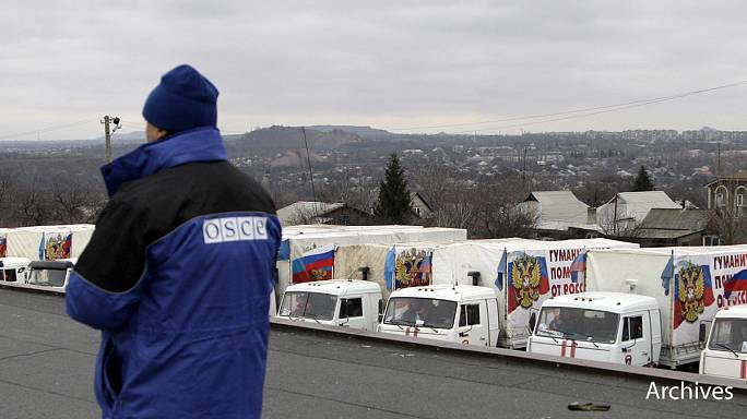 OSCE raises concerns over continuing fighting in Ukraine