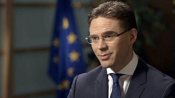 Jyrki Katainen, el vicepresidente de la Comisión Europea, habla sobre Grecia y su futuro
