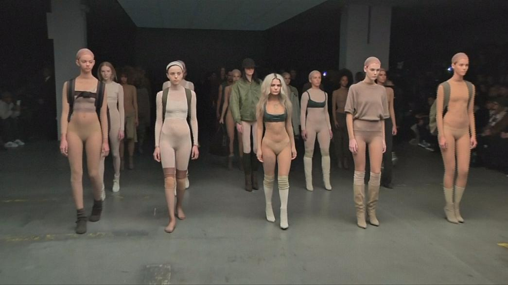 Kanye West auf New Yorker Fashion Week