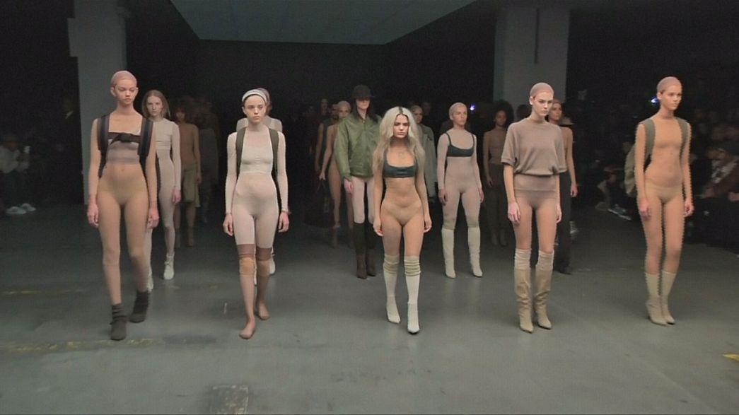 Kanye West attempts comeback at NY Fashion Week