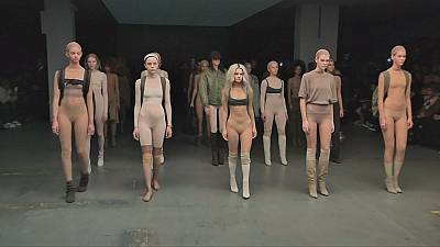 Kanye West attempts comeback at NY Fashion Week